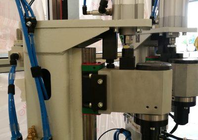 Impianto di controllo cricche e durezza fusi mediante con correnti indotte
